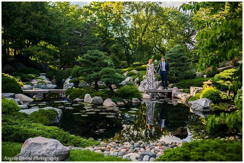 Como Conservatory Japanese Garden Wedding