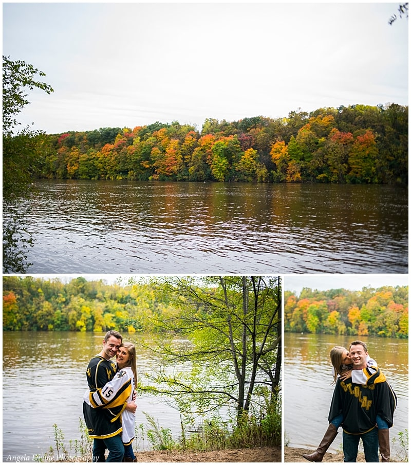East River Parkway Engagement photos