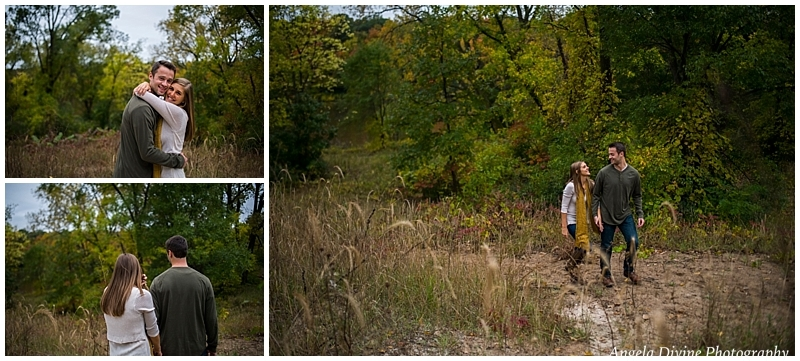 East River Parkway Minneapolis Engagement Session
