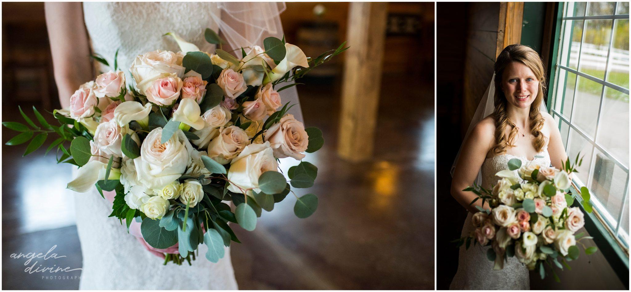 Carlos Creek Winery Wedding Bride