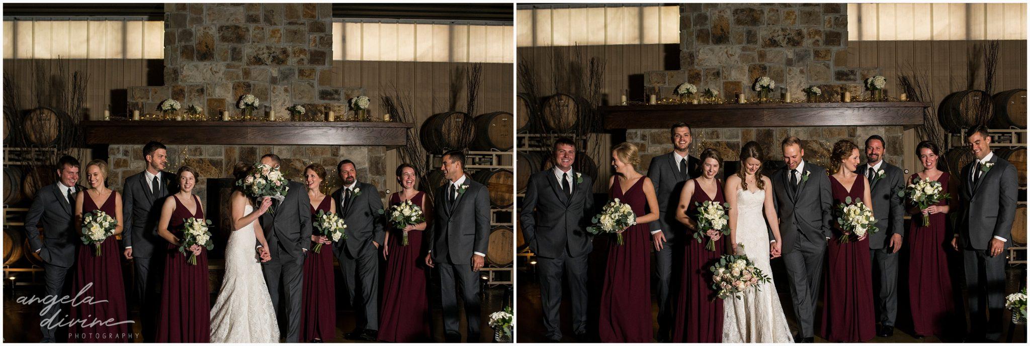Carlos Creek Winery Wedding bridal part