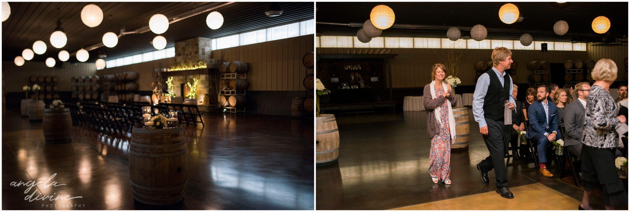 Carlos Creek Winery Wedding Ceremony Space