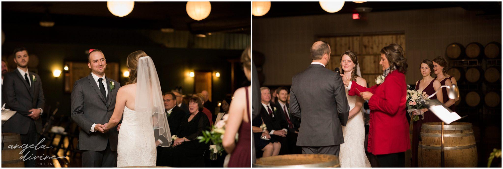 Carlos Creek Winery Wedding Ceremony Vows