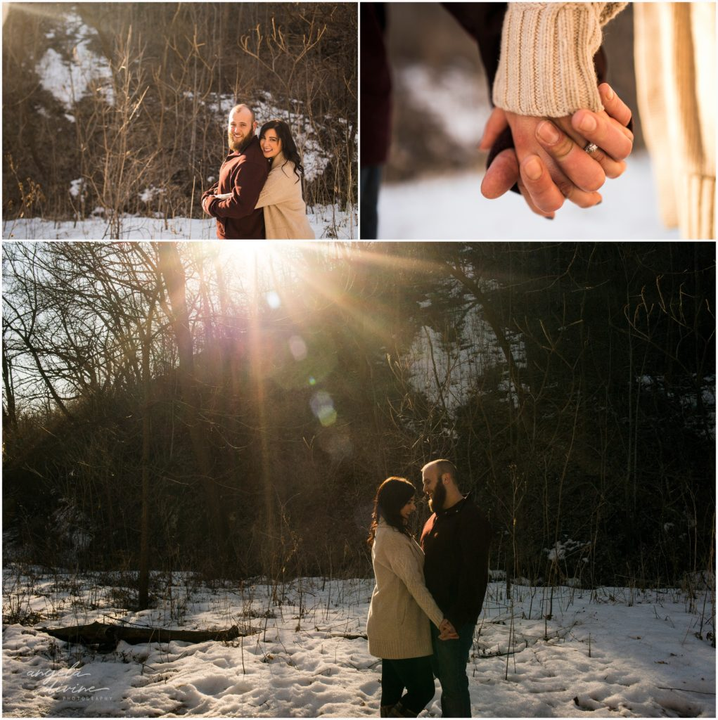 St. Paul Engagement Session Winter