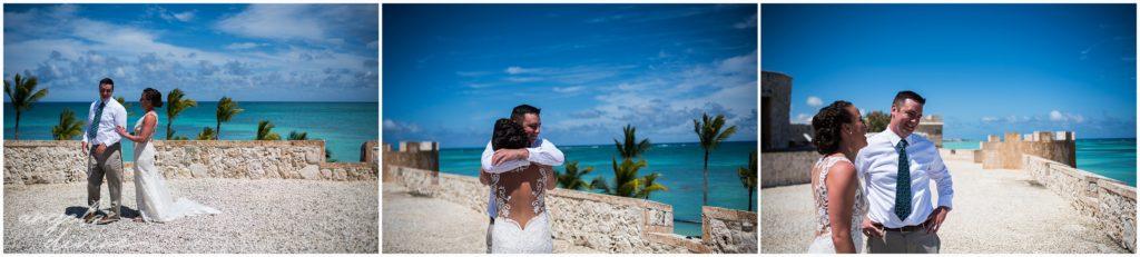 Sanctuary Cap Cana Wedding Punta Cana First Look