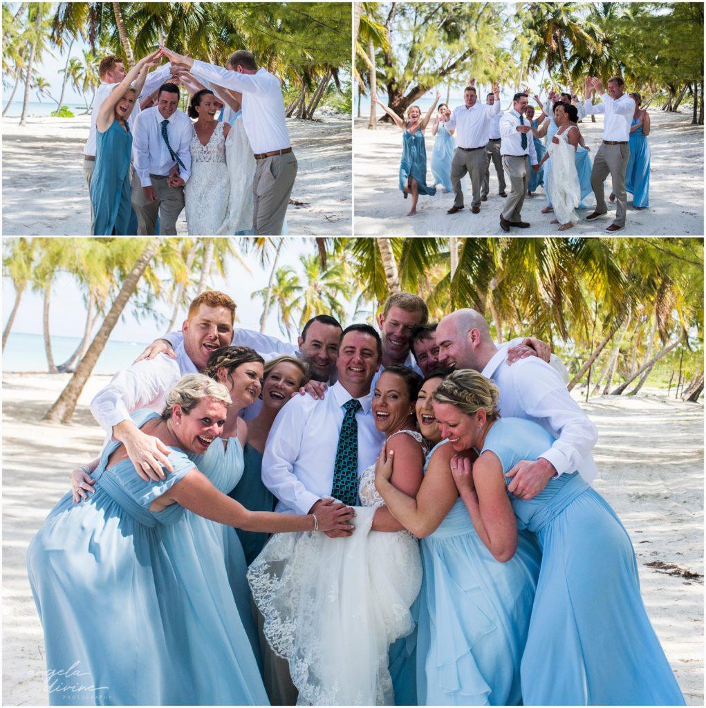 Sanctuary Cap Cana Wedding Punta Cana Wedding Party