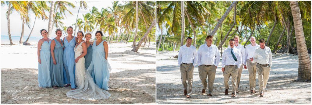 Sanctuary Cap Cana Wedding Punta Cana Bridal Party