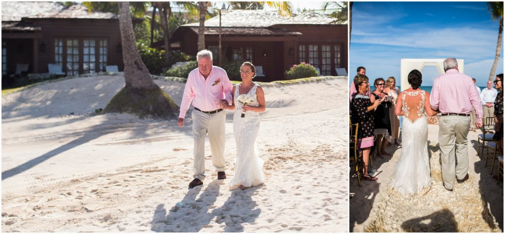 Sanctuary Cap Cana Wedding Punta Cana Ceremony on the beach