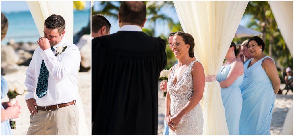 Sanctuary Cap Cana Wedding Punta Cana Beach Ceremony Vows