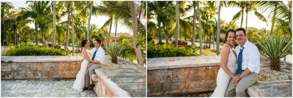 Sanctuary Cap Cana Wedding Punta Cana Sunset Photos