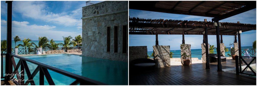 Sanctuary Cap Cana Wedding Punta Cana Ocean Bar Reception