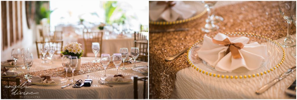 Sanctuary Cap Cana Wedding Punta Cana Ocean Bar Reception Tables