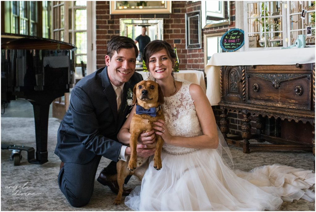University Club Wedding Pup