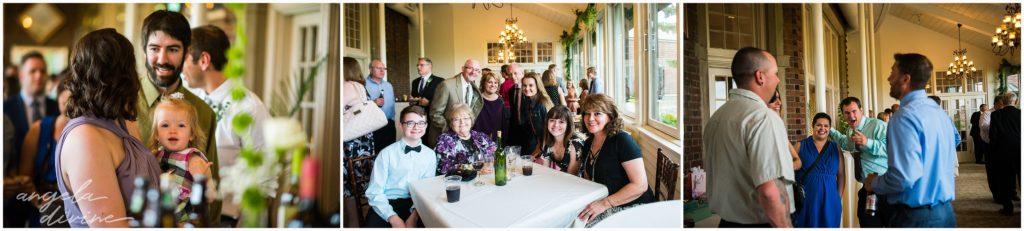 v=University Club wedding social hour guests