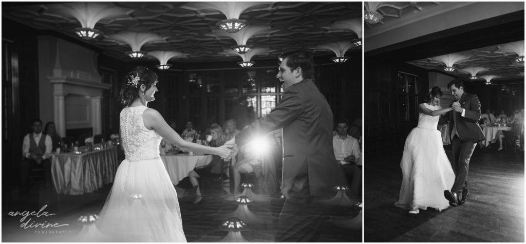 v=University Club wedding first dances