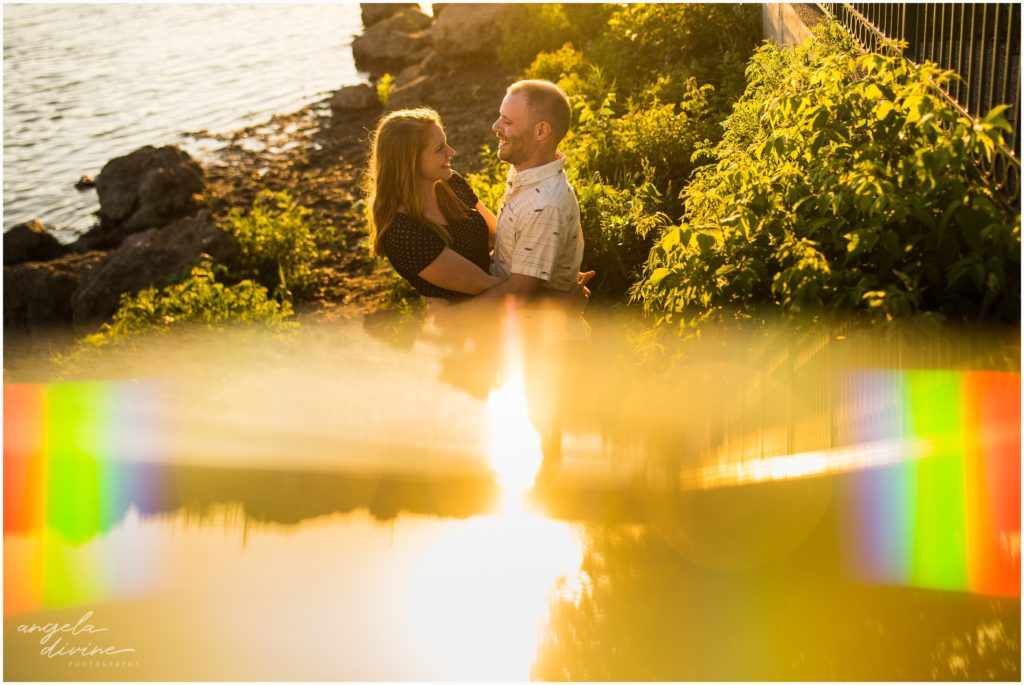 Nicollet Island Engagement Session