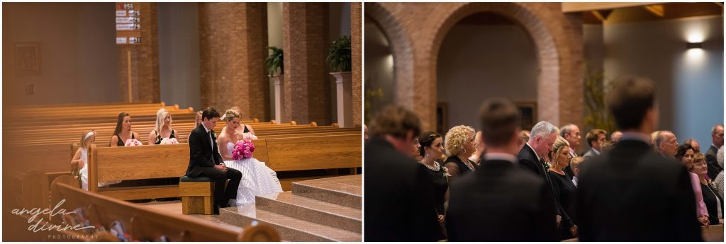 Westin Edina Galleria Wedding Wedding All Saints Catholic Church Ceremony