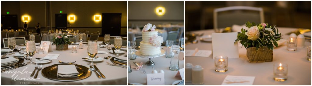 Westin Edina Galleria Wedding Table Decor