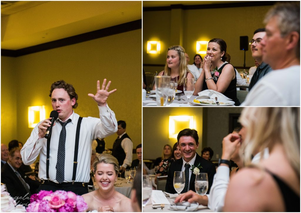 Westin Edina Galleria Wedding Reception Speeches