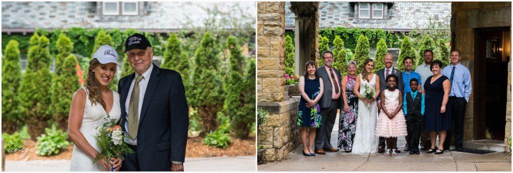 summit manor wedding family formals