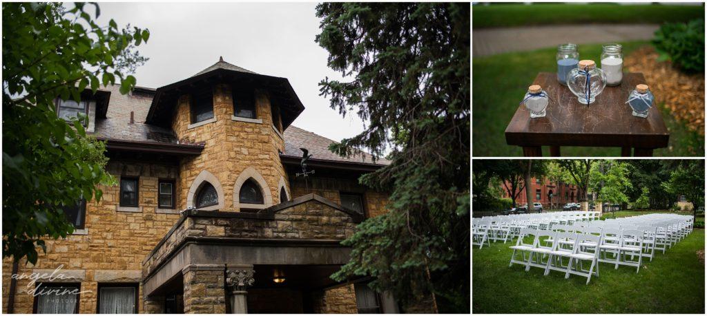 summit manor wedding ceremony details