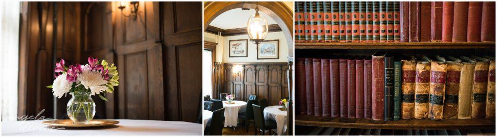 summit manor wedding interior