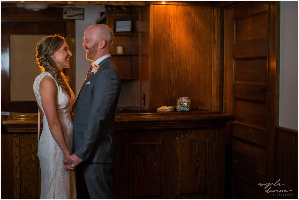 summit manor wedding downstairs bar