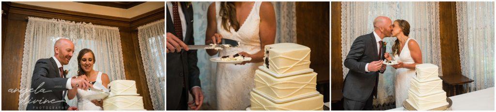 summitmanorwedding24summit manor wedding cake cutting