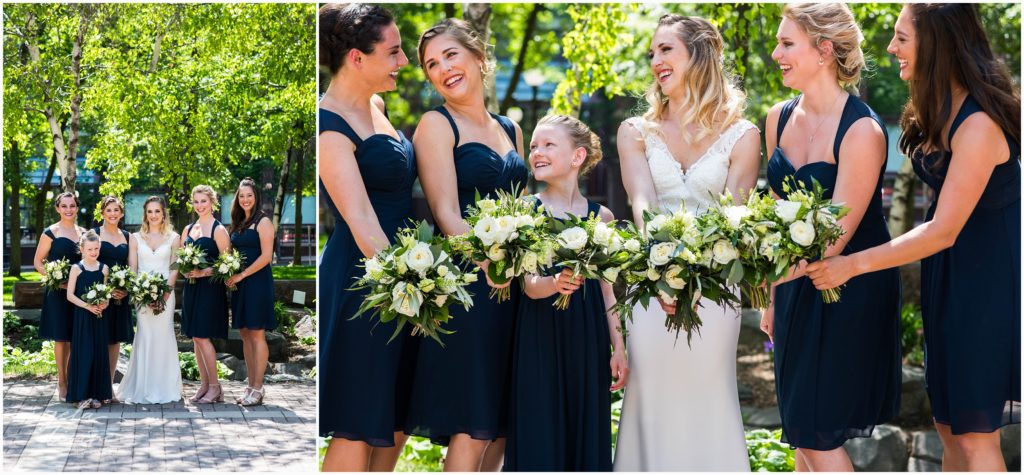 lowertown event center bridesmaids