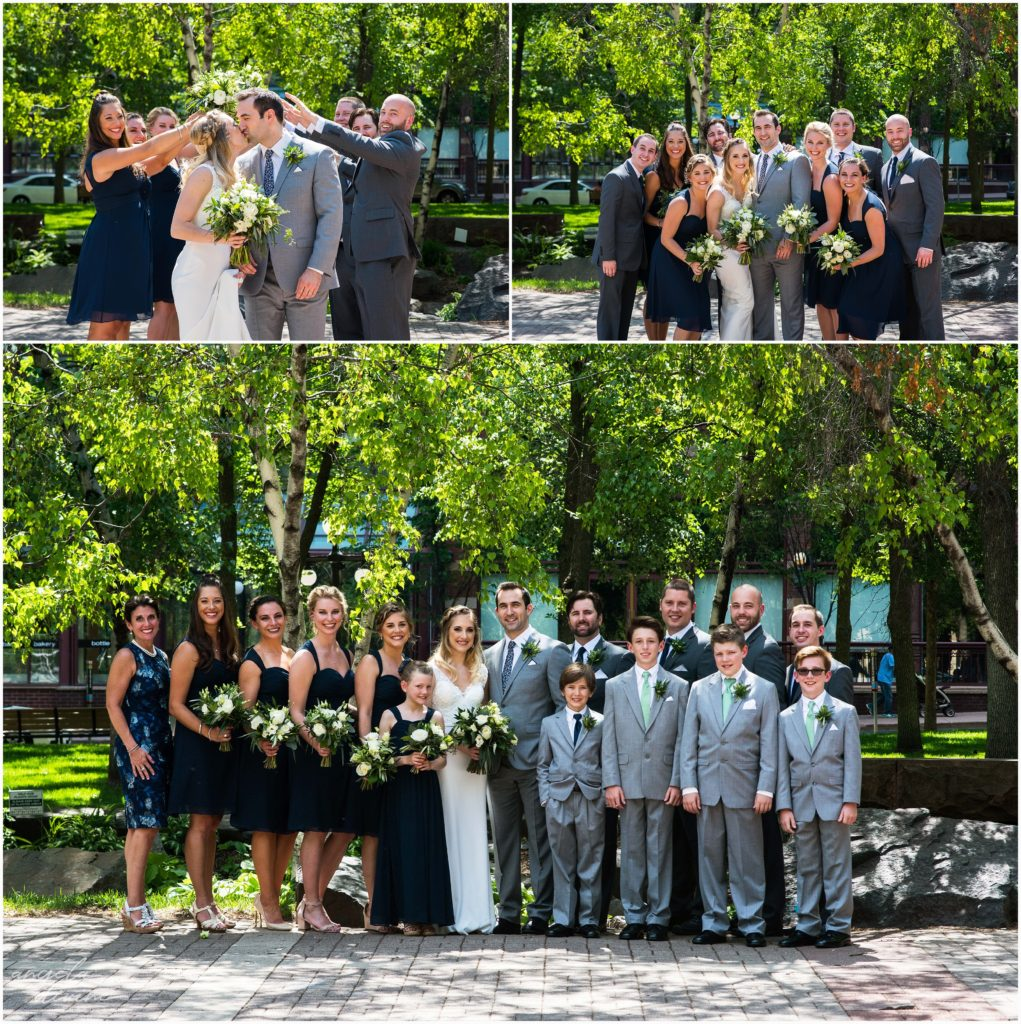 lowertown event center wedding party