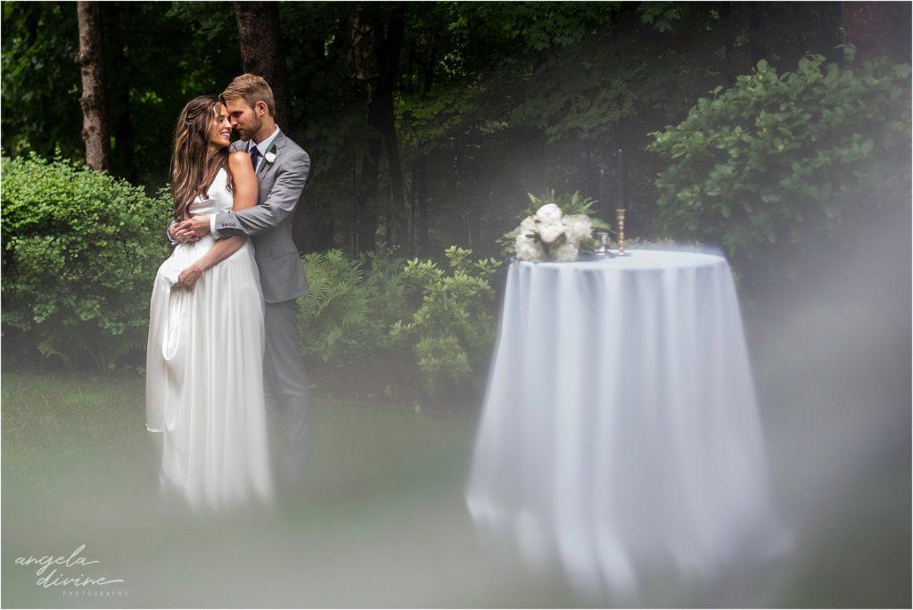 hotel landing wayzata wedding backyard
