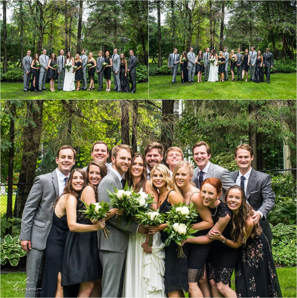 hotel landing wayzata wedding wedding party