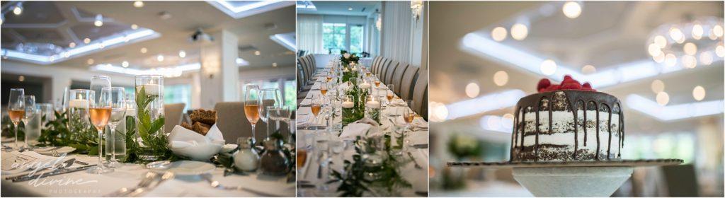 hotel landing wayzata wedding table details