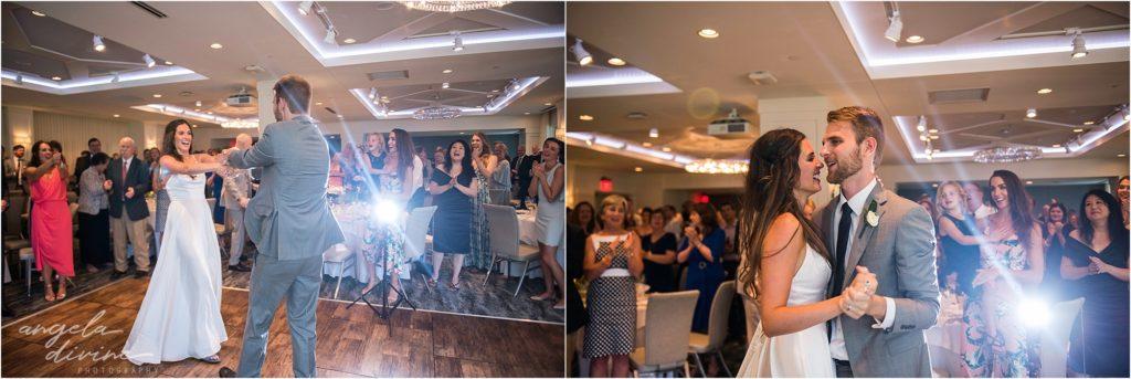 hotel landing wayzata wedding first dance