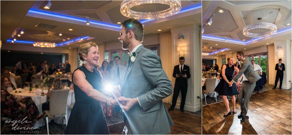 hotel landing wayzata wedding mother son dance