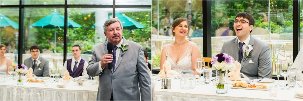 oak ridge conference center wedding toasts