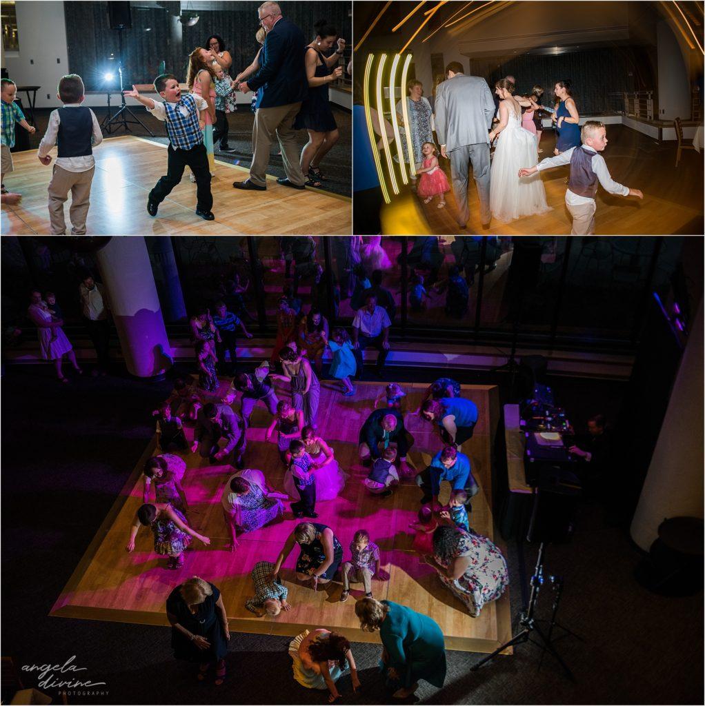 oak ridge conference center wedding dance floor