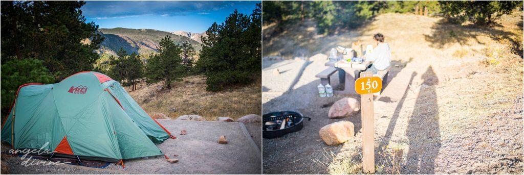 Moraine Park Colorado Campsite 150