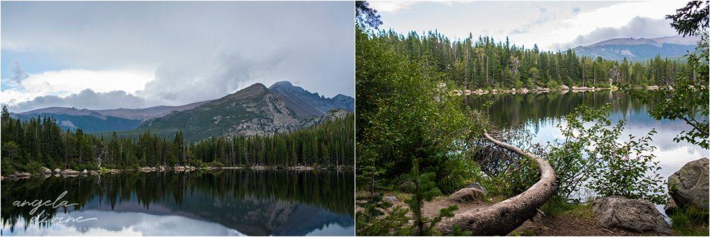 Bear Lake Landscape Moraine Park Colorado