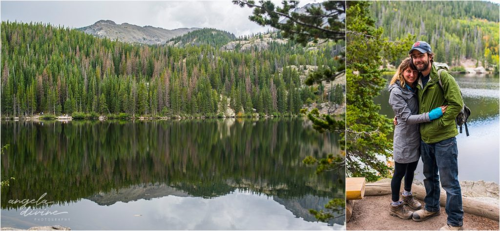 Bear Lake Fall Moraine Park Colorado