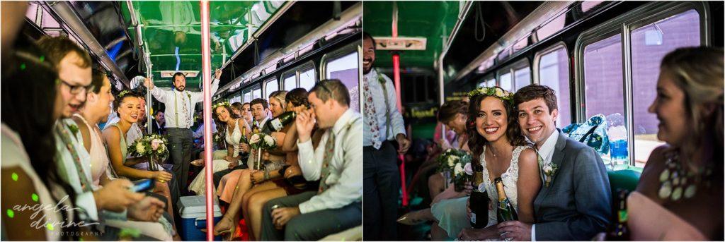 Campus Club Wedding Party Bus