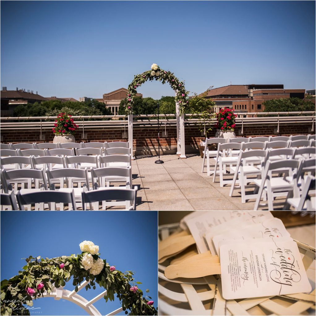 Campus Club Wedding Ceremony Details