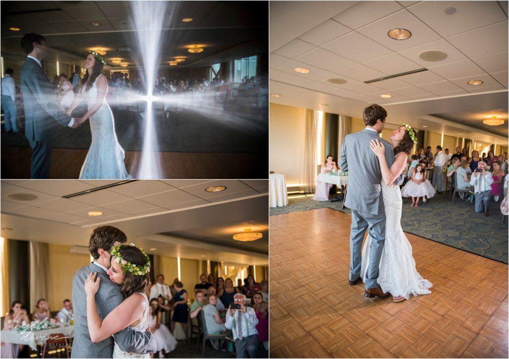 Campus Club Wedding First Dance