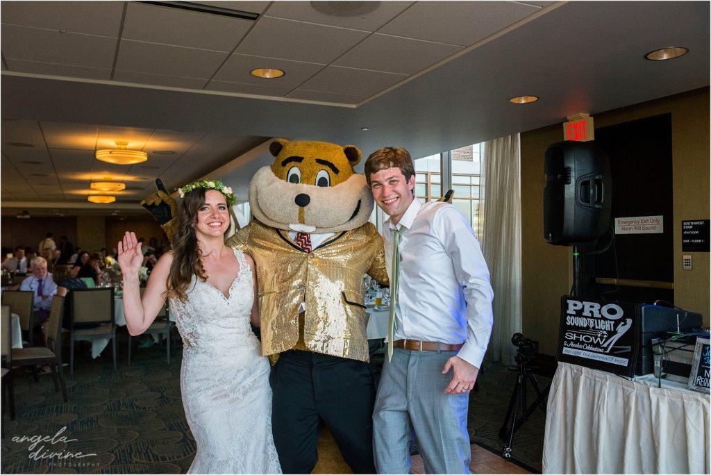 Campus Club Wedding Goldy Gopher