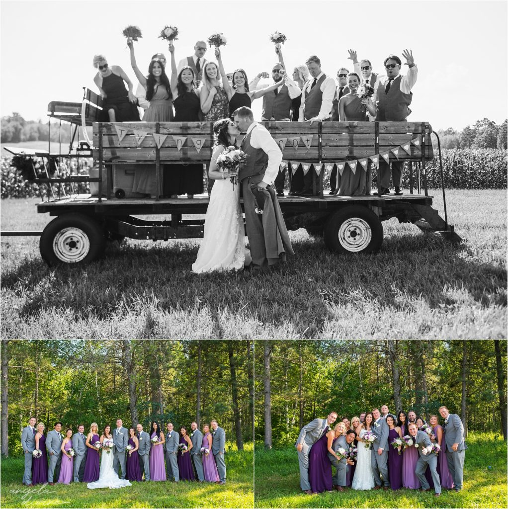 pine peaks event center wedding wedding party