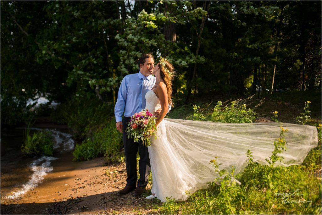 Hayward Wisconsin Backyard Wedding