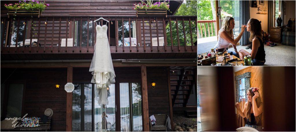 Hayward Wisconsin Backyard Wedding Dess