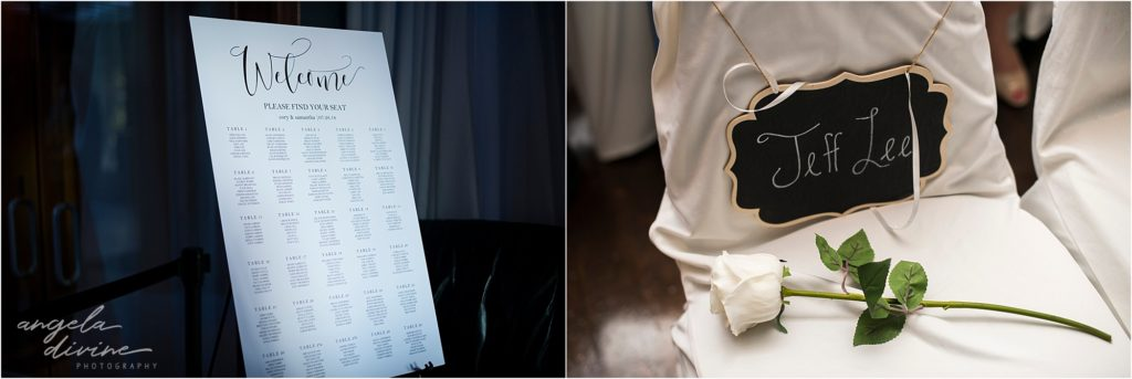 Profile Event Center wedding ceremony details