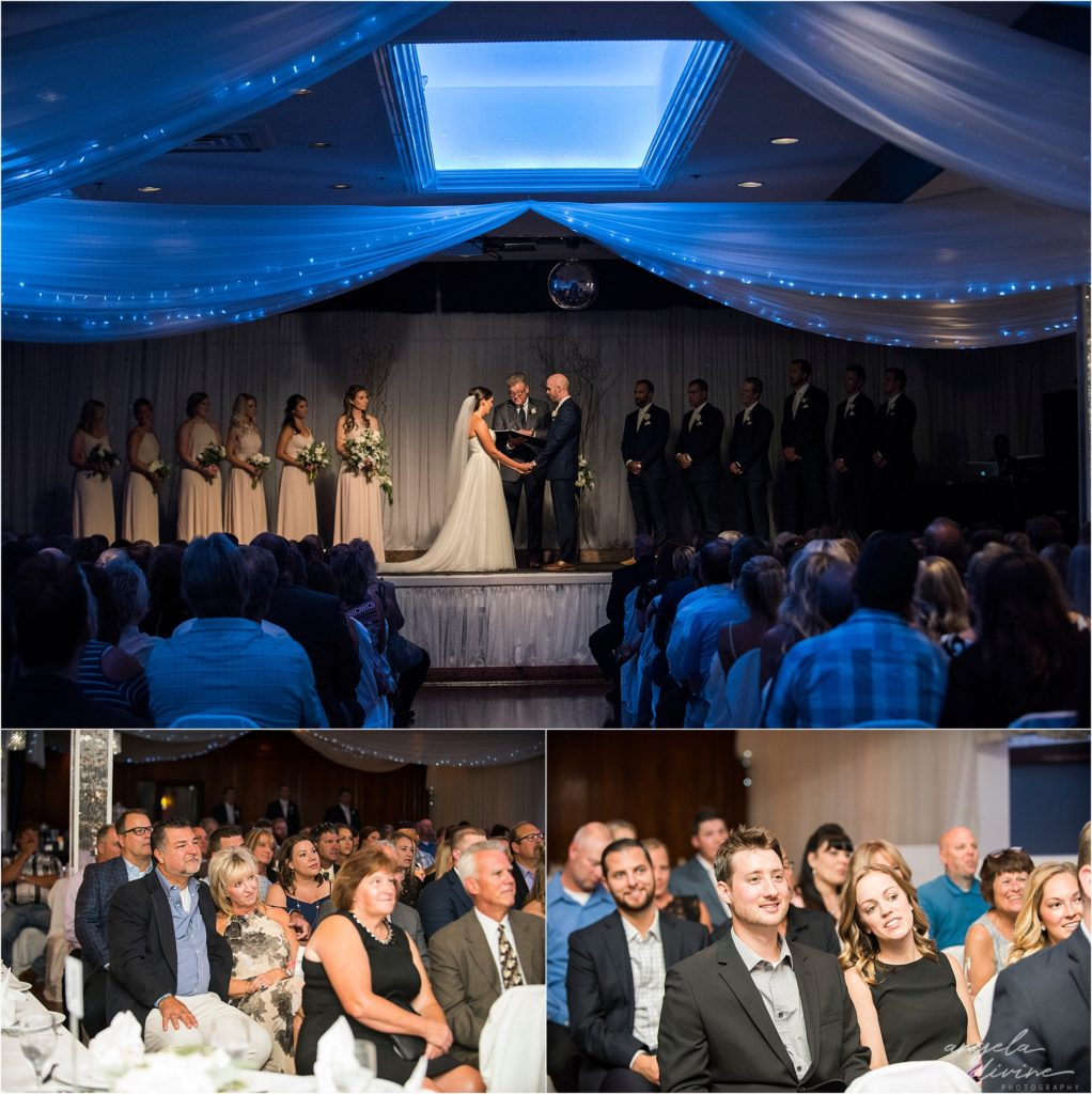 Profile Event Center wedding ceremony