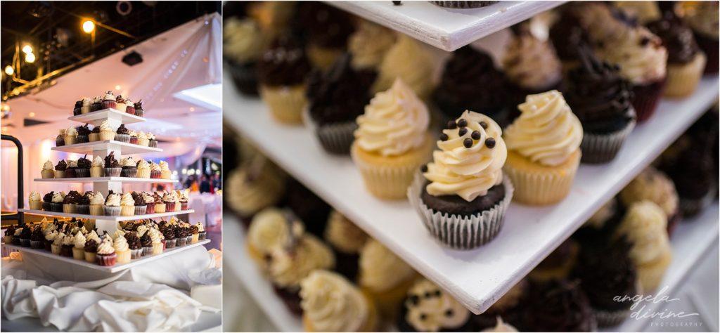 Profile Event Center wedding cupcakes